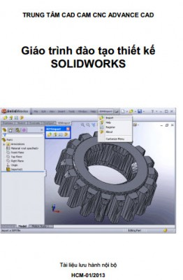 Xuất bản vẽ 2d trong solidworks