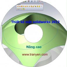 VIDEO TIẾNG VIỆT THIẾT KẾ MẶT NÂNG CAO VỚI SOLIDWORKS 2012 LEVEL 1