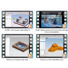 DVD hướng dẫn những thủ thuật trong phần gia công của NX8 và NX8.5