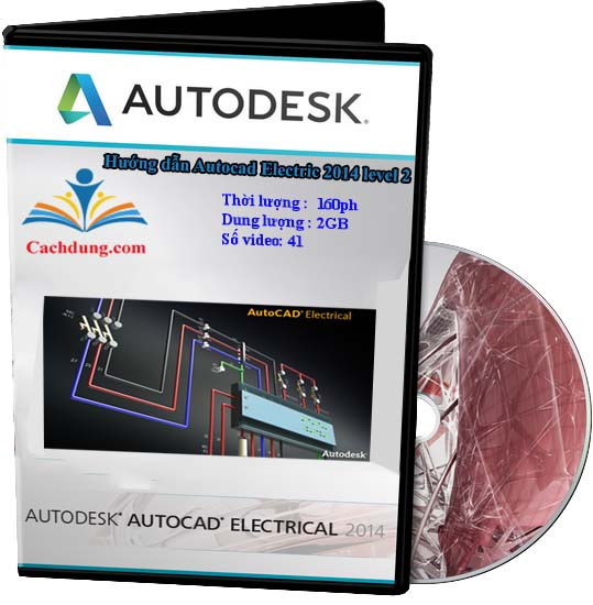 autocad electric 2014