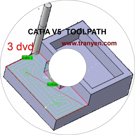CATIA TOOLPATH