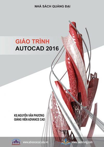 bìa giáo trình autocad 2016