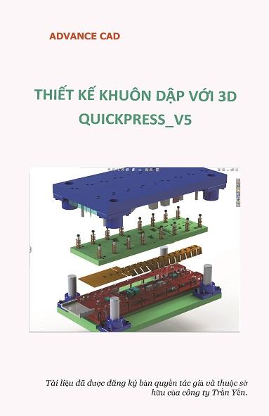 thiết kế khuôn dập 3dquick press